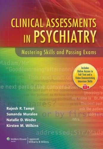 Clinical Assessments In Psychiatry  - LIVRARIA ODONTOMEDI