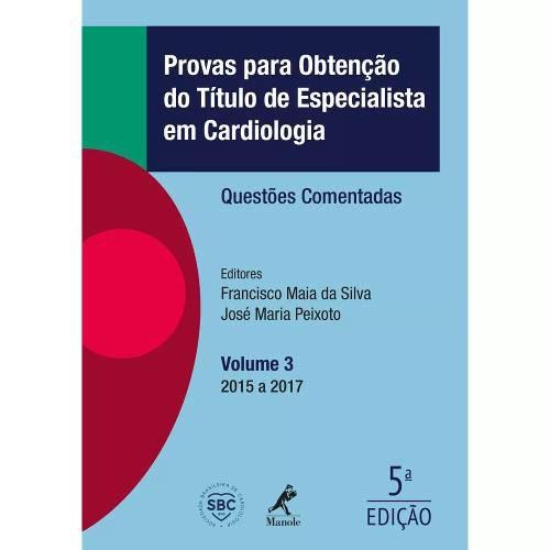 Livro Provas Para Obtenção Do Título De Espec Em Cardiologia  - LIVRARIA ODONTOMEDI