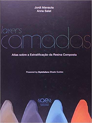 Livro Layers Camadas Atlas Sobre Estratificação Resina Composta  - LIVRARIA ODONTOMEDI