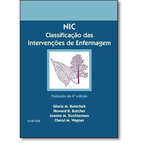 Nic Classificação Das Intervenções De Enfermagem  - LIVRARIA ODONTOMEDI