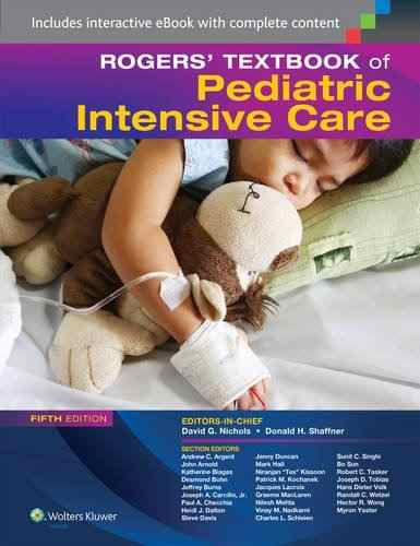 Livro Rogers Textbook Of Pediatric Intensive Care  - LIVRARIA ODONTOMEDI