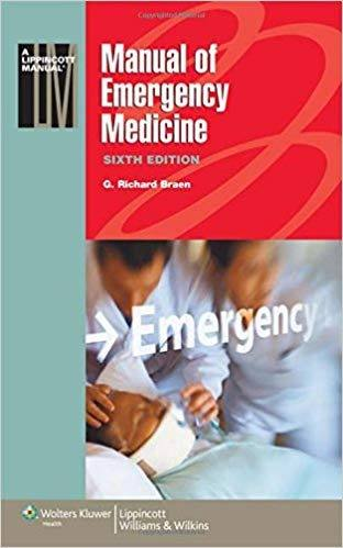 Livro Manual Of Emergency Medicine  - LIVRARIA ODONTOMEDI