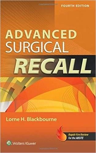 Livro Advanced Surgical Recall  - LIVRARIA ODONTOMEDI