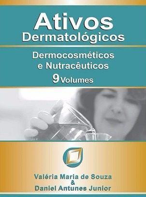 Livro Ativos Dermatológicos - 9 Volumes  - LIVRARIA ODONTOMEDI