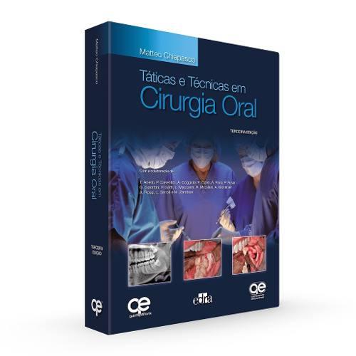 Táticas E Técnicas Em Cirurgia Oral 3ª Ed. - Chiapasco  - LIVRARIA ODONTOMEDI