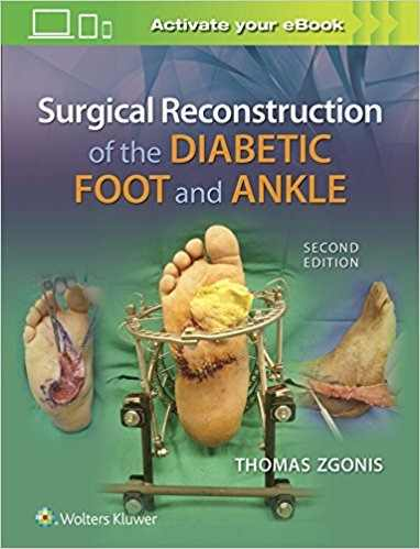 Livro Surgical Reconstruction Of The Diabetic Foot And Ankle  - LIVRARIA ODONTOMEDI