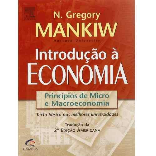 Livro Introdução À Economia - Princípios De Micro E Macroeconomia  - LIVRARIA ODONTOMEDI