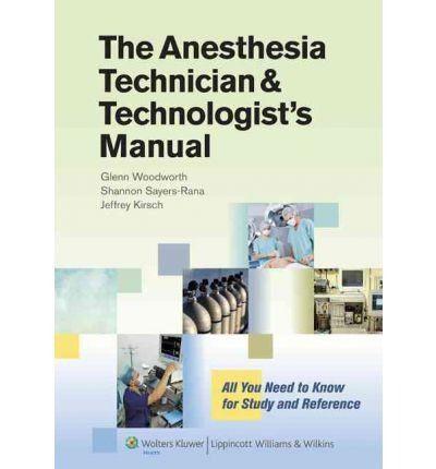 Livro Anesthesia Technician And Technologist