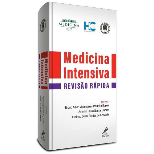 Medicina Intensiva Revisão Rápida  - LIVRARIA ODONTOMEDI