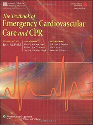Livro The Textbook Of Emergency Cardiovascular Care And Cpr  - LIVRARIA ODONTOMEDI