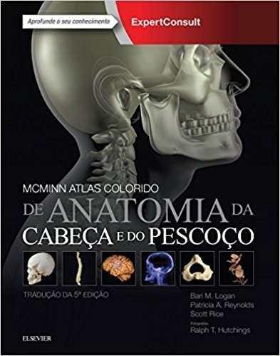 Livro Mcminn Atlas Colorido De Anatomia Da Cabeça E Pescoço  - LIVRARIA ODONTOMEDI
