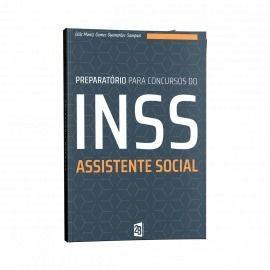 Livro Preparatório Para Concursos Do Inss Assistente Social  - LIVRARIA ODONTOMEDI