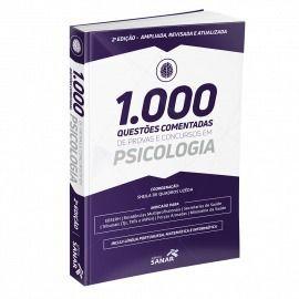 1.000 Questões Comentadas Em Psicologia 2ª Edição  - LIVRARIA ODONTOMEDI