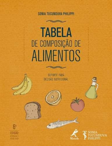 Livro Tabela De Composição De Alimentos  - LIVRARIA ODONTOMEDI