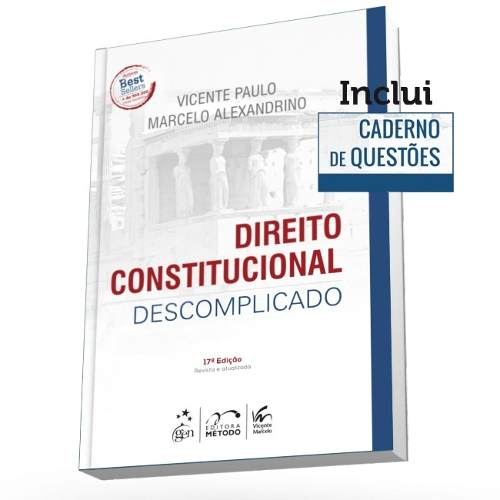 Direito Constitucional Descomplicado 17ª Edição, 2018  - LIVRARIA ODONTOMEDI