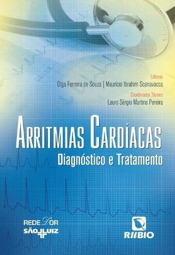 Livro Arritmias Cardíacas Diagnóstico E Tratamento  - LIVRARIA ODONTOMEDI