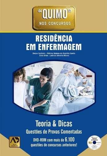 Livro Quimo - Residência Em Enfermagem  - LIVRARIA ODONTOMEDI