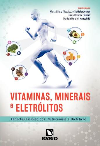 Livro Vitaminas Minerais E Eletrólitos  - LIVRARIA ODONTOMEDI