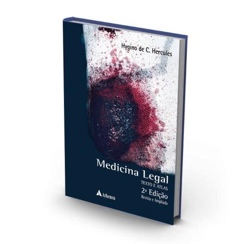 Livro Medicina Legal Atlas E Texto - Hércules 2ª Edição Medicina  - LIVRARIA ODONTOMEDI