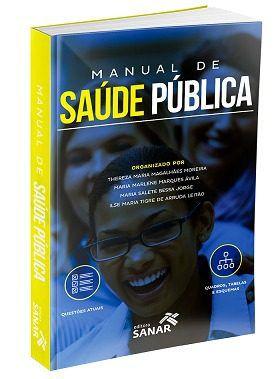 Livro Manual De Saúde Pública (para Provas E Concursos)  - LIVRARIA ODONTOMEDI