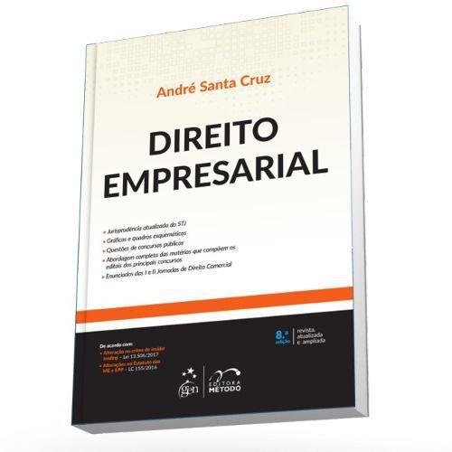 Direito Empresarial André L Santa Cruz Ramos 8ª Ed. 2018  - LIVRARIA ODONTOMEDI