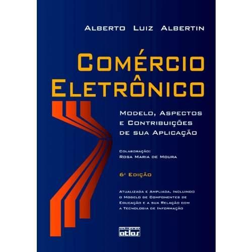 Livro Comércio Eletrônico  - LIVRARIA ODONTOMEDI