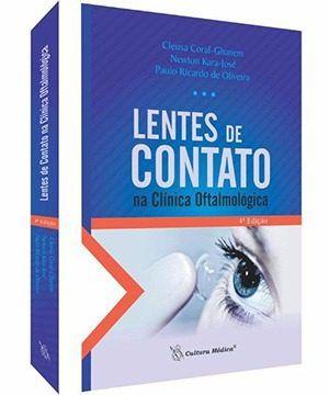 Livro Lentes De Contato Na Clínica Oftamológica  - LIVRARIA ODONTOMEDI