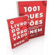 1001 Questões Para No Enem + O Livro Do Aprovado No Concurso