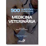 Livro 500 Questões Comentadas Em Medicina Veterinária