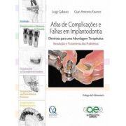 Livro Atlas De Complicações E Falhas Em Implantodontia