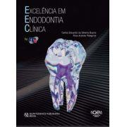 Livro Excelência Em Endodontia Clínica, Bueno