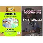 QUIMO - ENFERMEIRO (COM CD-ROM) NOVO + 1.000 QUESTÕES COMENTADAS DE PROVAS, CONCURSOS EM ENFERMAGEM