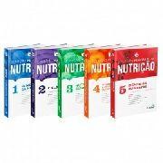 Coleção Manuais Da Nutrição Para Concur E Resid 1,2,3, 4 E 5