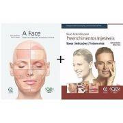 A Face - Atlas Anatomia Clinica + Guia Ilustrado para Preenchimentos Injetáveis