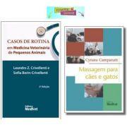 CASOS DE ROTINA VETERINÁRIA + MASSAGEM PARA CÃES E GATOS