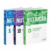 Coleção Manuais Da Nutrição Para Concursos E Residência vol 1, 2 E 3