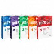 Coleção Manuais Da Nutrição Para Concursos E Residência  vol 1,2,3,4 E 5