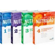 Coleção Manuais Da Nutrição Para Concursos E Residência  vol 1,2,3 E 4