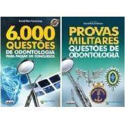 Combo 6.000 Questões De Odontologia E Provas Militares Questões De Odontologia