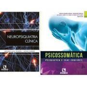 Combo Neuropsiquiatria Clínica E Psicossomática - Rubio