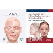 Livro A Face + Guia Ilustrado Para Infiltrações Estéticas Co