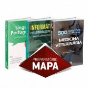 Medicina Veterinária: Combo Preparatório Para Mapa