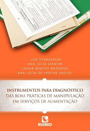 Livro Instrumentos Para Diagnóstico Das Boas Práticas De Manipulação  - LIVRARIA ODONTOMEDI