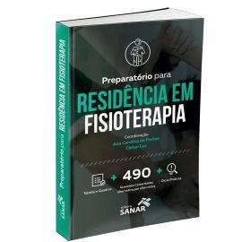 Livro Preparatório Residência Em Fisioterapia 490 Questões  - LIVRARIA ODONTOMEDI