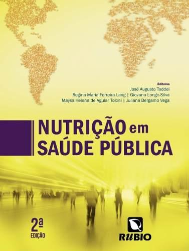Livro Nutrição Em Saúde Pública  - LIVRARIA ODONTOMEDI