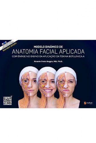 Livro Modelo Dinâmico De Anatomia Facial AplicadaLivroBoggio  - LIVRARIA ODONTOMEDI