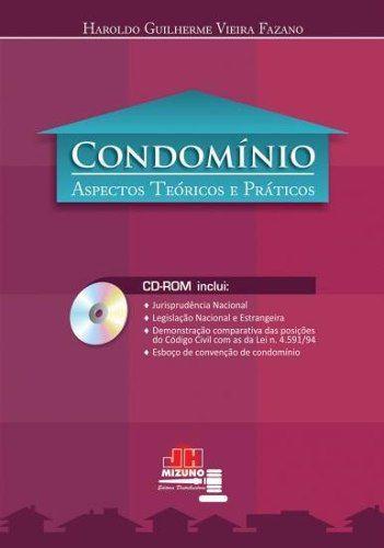 Livro Condomínio - Aspectos Teóricos E Práticos  - LIVRARIA ODONTOMEDI