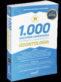 1.000 Questões Coment. de Provas e Conc. em Odontol. - 2ª Ed  - LIVRARIA ODONTOMEDI
