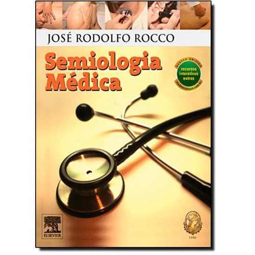 Livro Semiologia Médica Rocco  - LIVRARIA ODONTOMEDI
