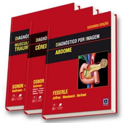Livro Diagnóstico Por Imagem - Coleção 3 Volumes  - LIVRARIA ODONTOMEDI